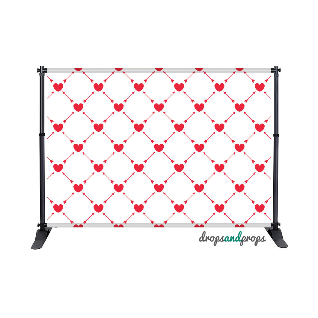 Cupid's Arrow Photography Backdrop