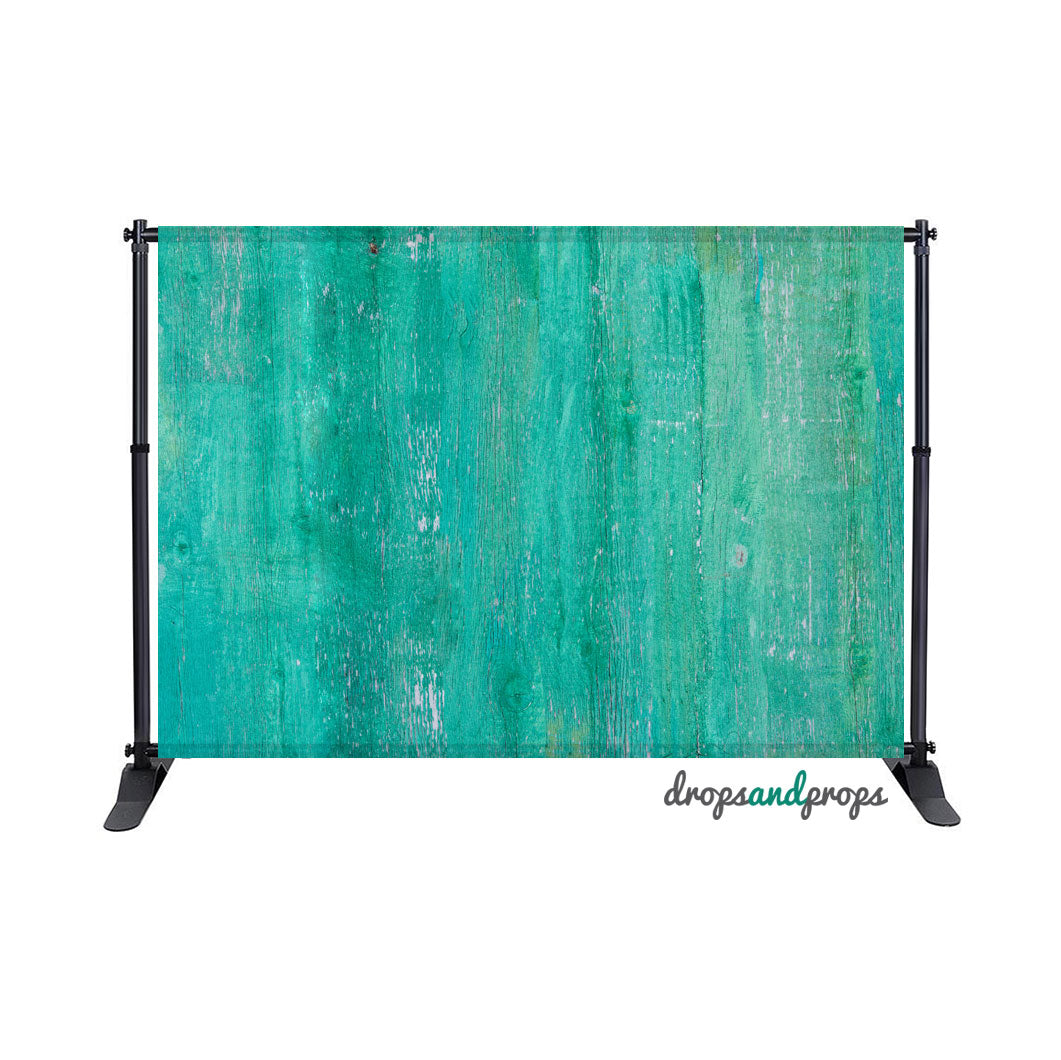 Emerald Wood Texture Photography Backdrop