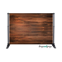 Espresso Wood Photography Backdrop