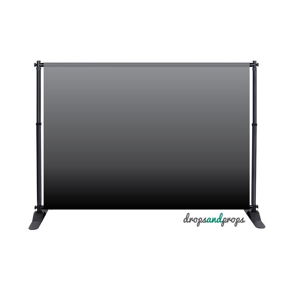 Gray Ombre Photography Backdrop