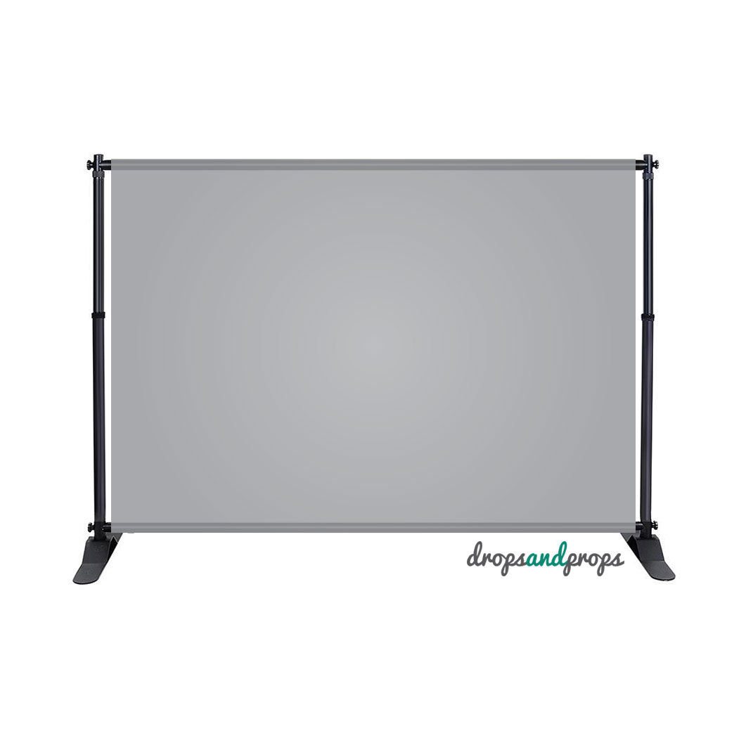 Soft Gray Solid Photography Backdrop