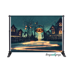 Halloween Town Photography Backdrop