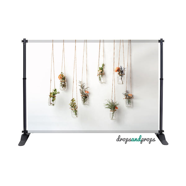 Hanging Flowers Photography Backdrop