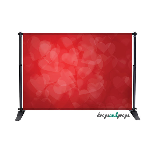 Heart Bokeh Photography Backdrop