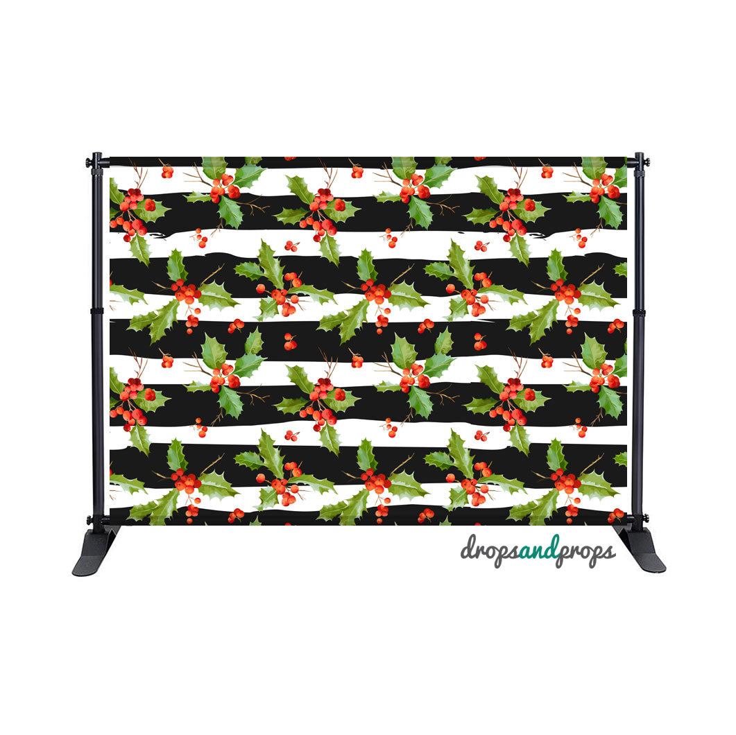 Holly Jolly Photography Backdrop