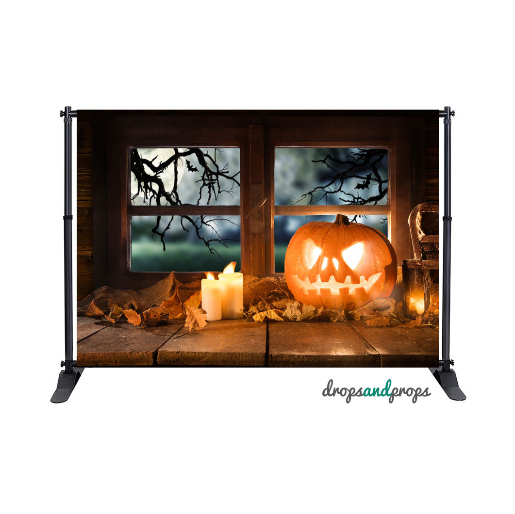 Jack O Lantern Photography Backdrop