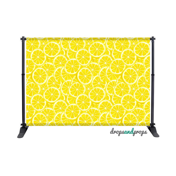 Lemon Slices Photography Backdrop