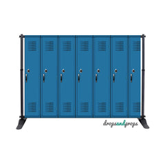 Lockers Photography Backdrop