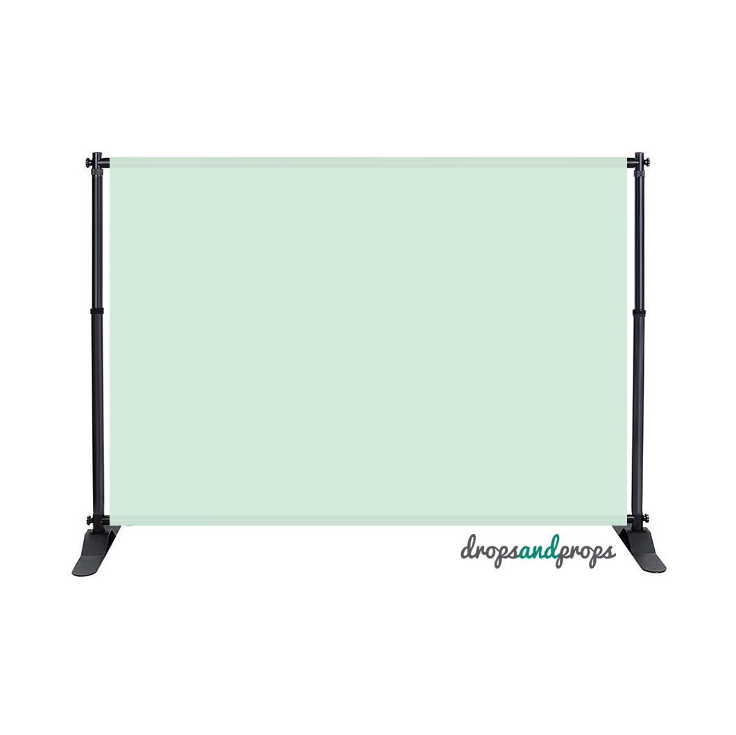 Mint Solid Photography Backdrop
