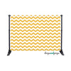 Mustard Chevron Photography Backdrop