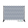 Navy Chevron Photography Backdrop