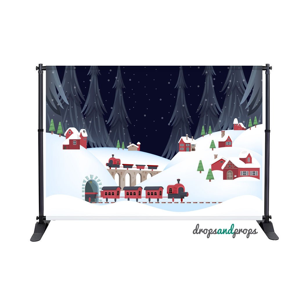 North Pole Photography Backdrop