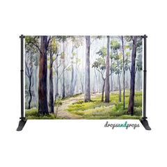 Painted Forest Photography Backdrop