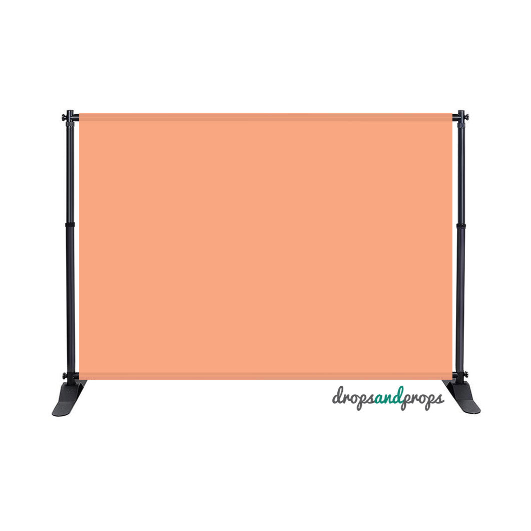 Peach Solid Photography Backdrop