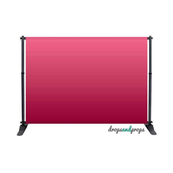 Pink Ombre Photography Backdrop