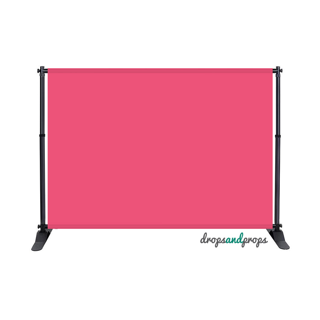 Pink Solid Photography Backdrop