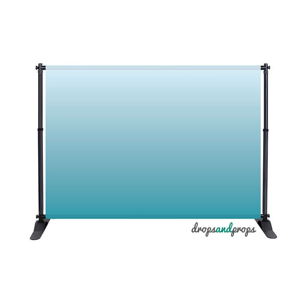 Pool Blue Ombre Photography Backdrop