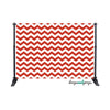 Red & White Chevron Photography Backdrop