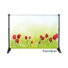 Spring Tulips Photography Backdrop
