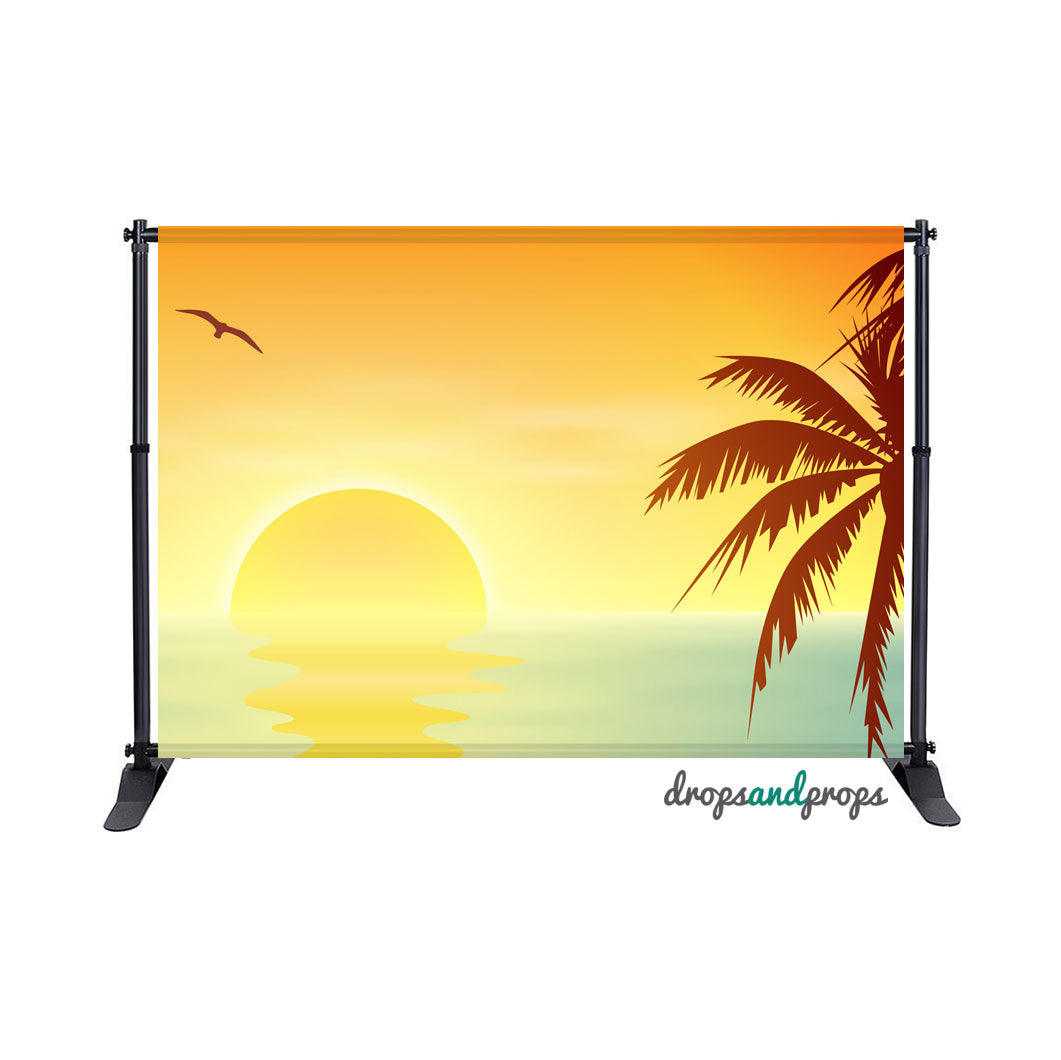 Summer Vibes Photography Backdrop