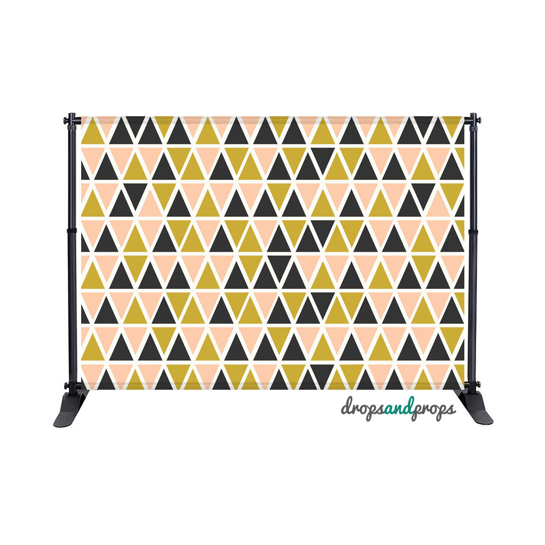 Triangles Photography Backdrop