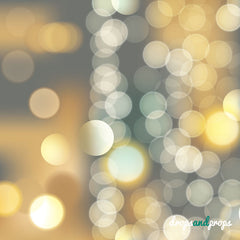 Warm Bokeh Photography Backdrop