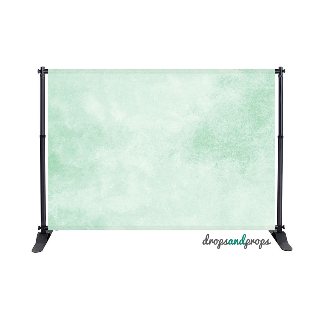 Watercolor Mint Solid Photography Backdrop
