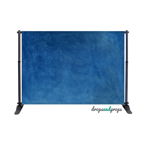 Watercolor Navy Photography Backdrop