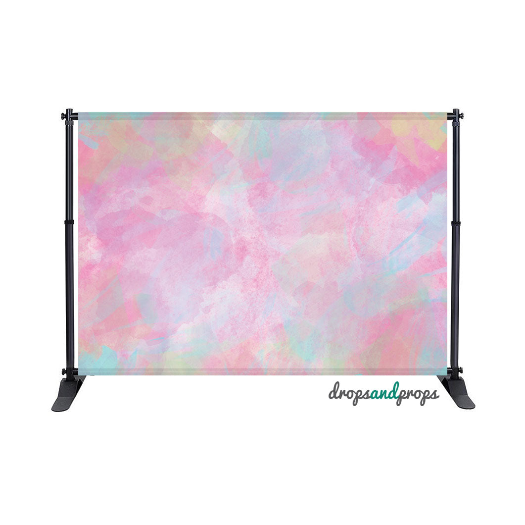 Watercolor Pastels Photography Backdrop