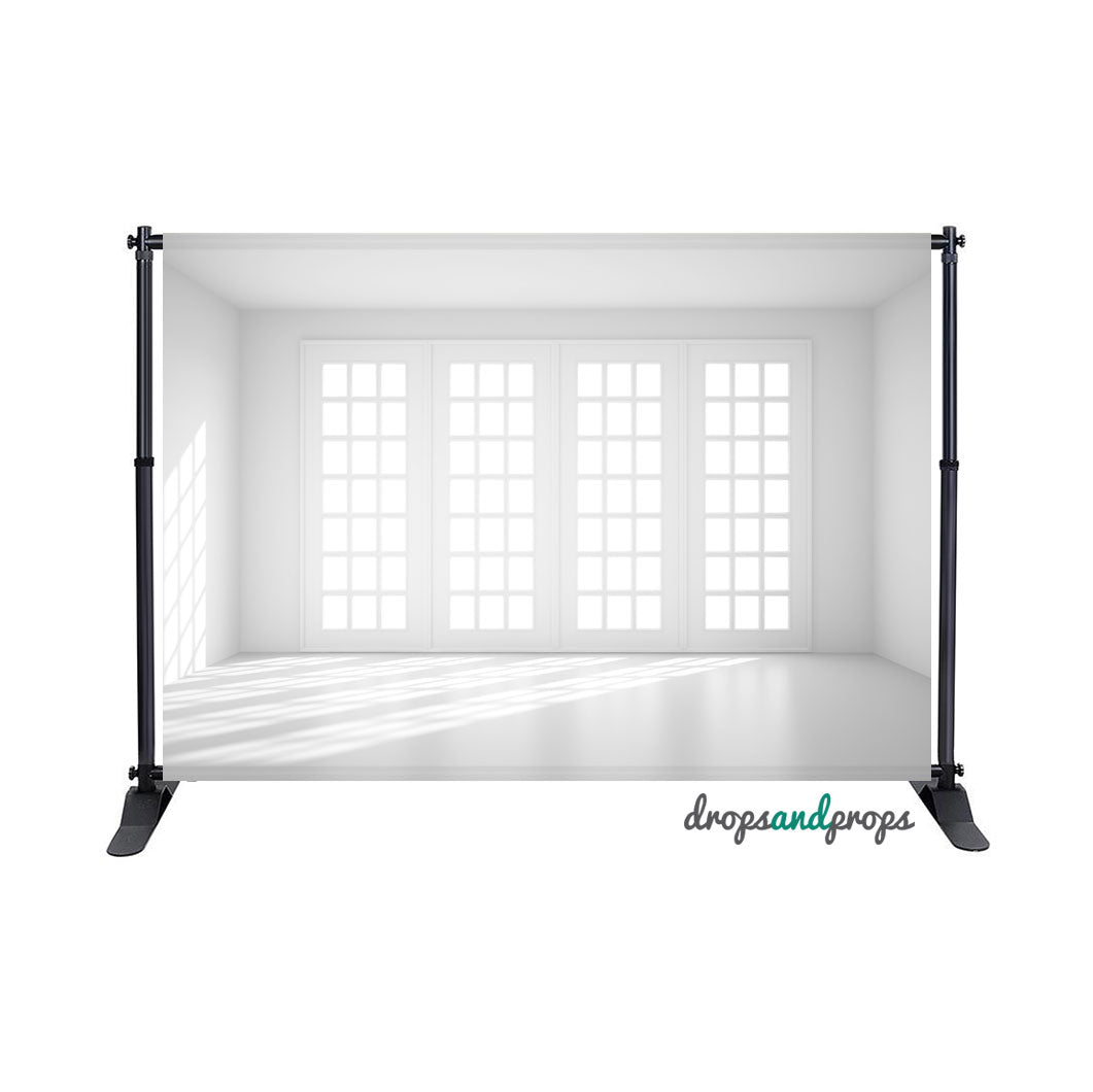 White Loft Photography Backdrop