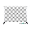 Black Quatrefoil Photography Backdrop
