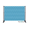 Winter Chevron Photography Backdrop