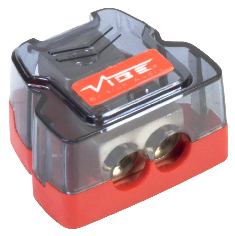Vibe CLGD-V7 12v Car Non Fused 2 Way Amplifier Amp Power Ground Distribution Block