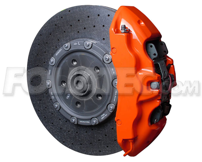 Foliatec Flame Orange FT2167 Car Bike Engine Brake Caliper High Temp Paint Lacquer Kit