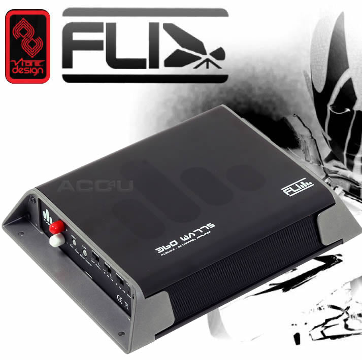 Fli Underground FU360.2 360 Watts 2/1 Channel Stereo Mono Car Bass Amp Amplifier