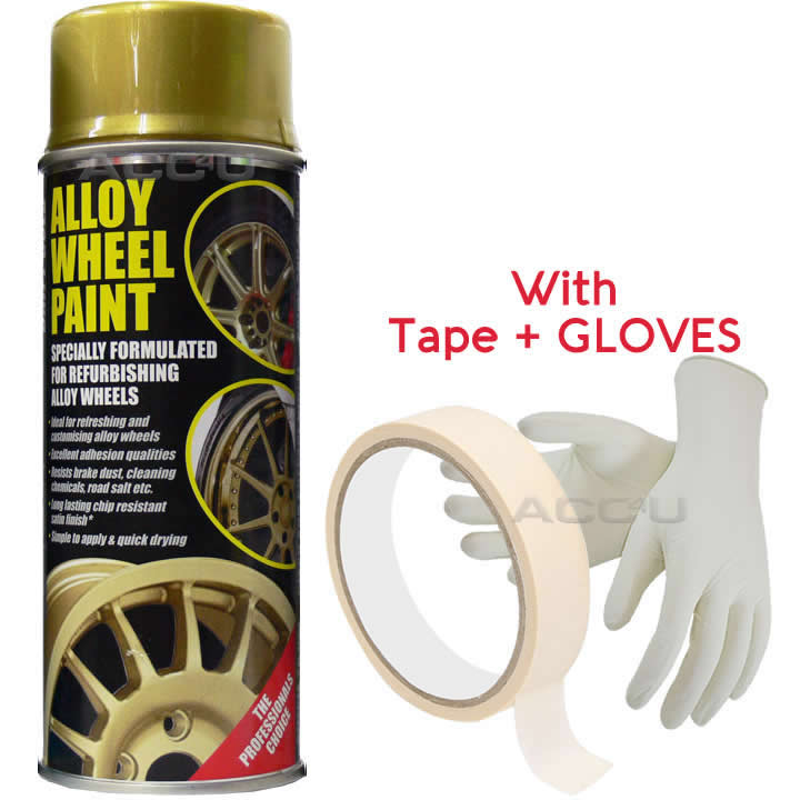 E-Tech DRIFT GOLD Car Alloy Wheel Wheels Refurbishment Spray Paint Can