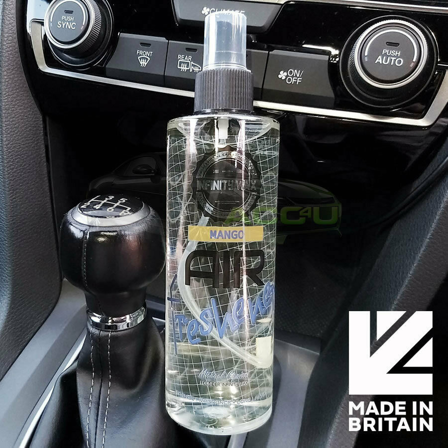 Infinity Wax Mango Fragrance Scent Car Air Freshener Mist Spray 250ml Bottle