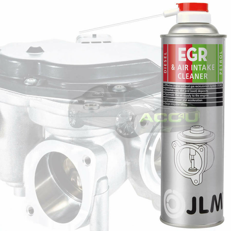 JLM Car Van Petrol Diesel Engine EGR & Air Intake Inlet Valve System Cleaner Spray