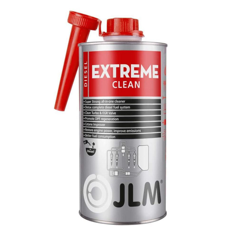 JLM Car Diesel Engine Extreme Clean Fuel Turbo EGR Valve DPF Regeneration System Cleaner 1L