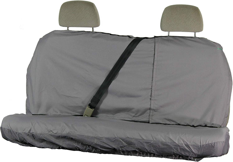 Town & Country Waterproof Multi Fit X-LARGE GREY Car Rear Seat Cover Protector