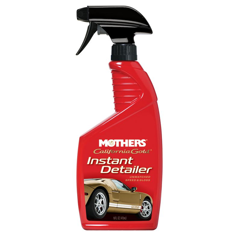 Mothers California Gold Car Paint Speed & Gloss Instant Detailer Detailing Spray
