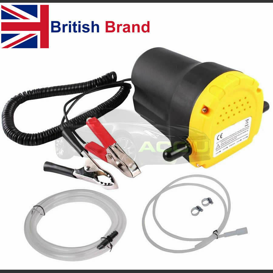 Streetwize 12v Electric Car Diesel Engine Oil Change Transfer Extractor Suction Syphon Pump
