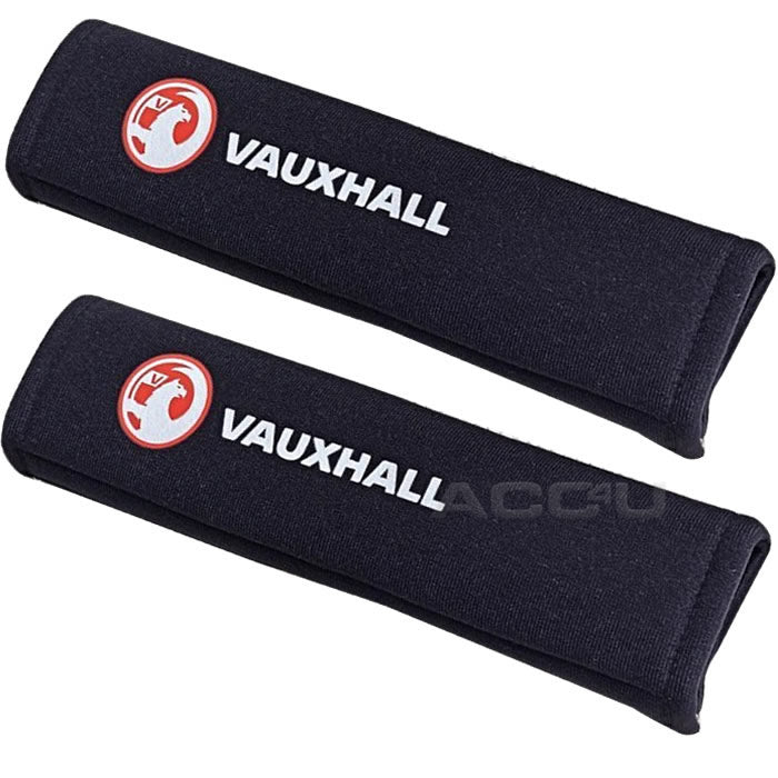 Richbrook Vauxhall Official Licensed Car Seat Belt Comfort Shoulder Harness Pads Set