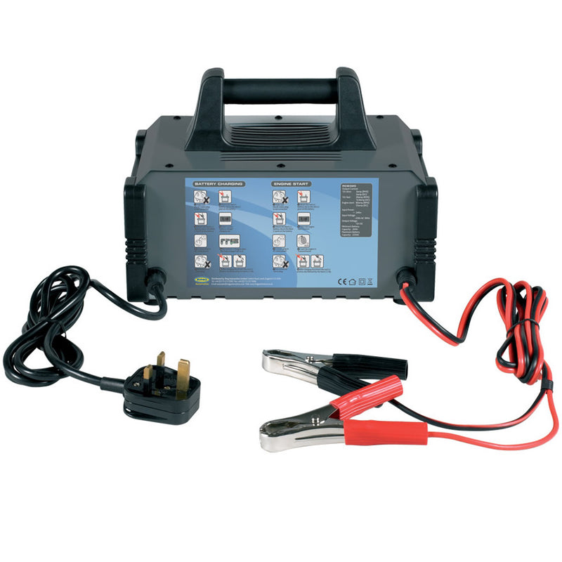 Ring RCB320 12v 20A 12000cc Engine Car 4x4 Fast Automatic Battery Charger & Jump Starter