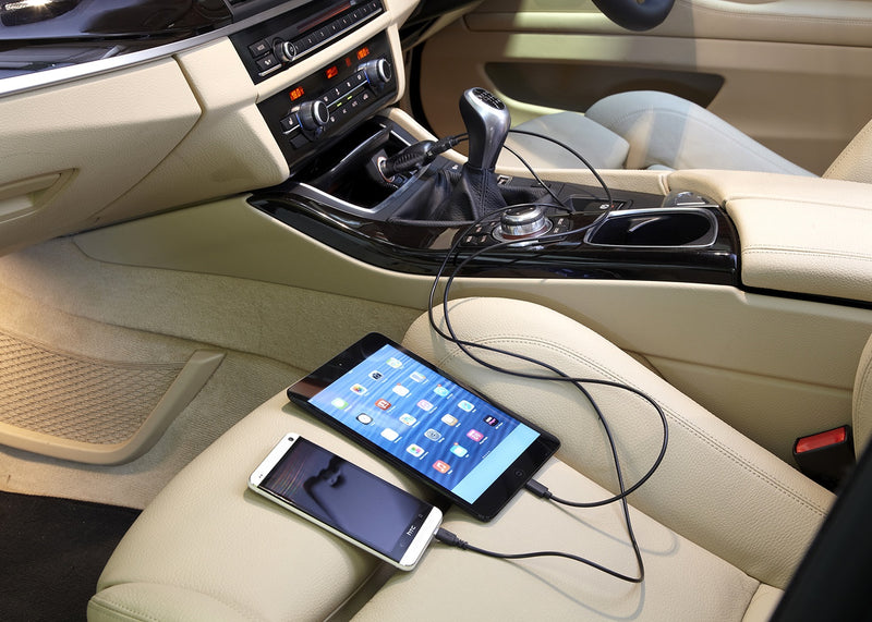 Ring RMS16 12v 24v 2.5A Car iPad iPhone Twin USB Fast Charging Socket Adapter