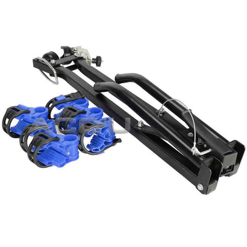 Summit SUM-608 Scissor Style Car 4x4 Rear Tow Ball Mount 3 Cycle Bike Rack Carrier