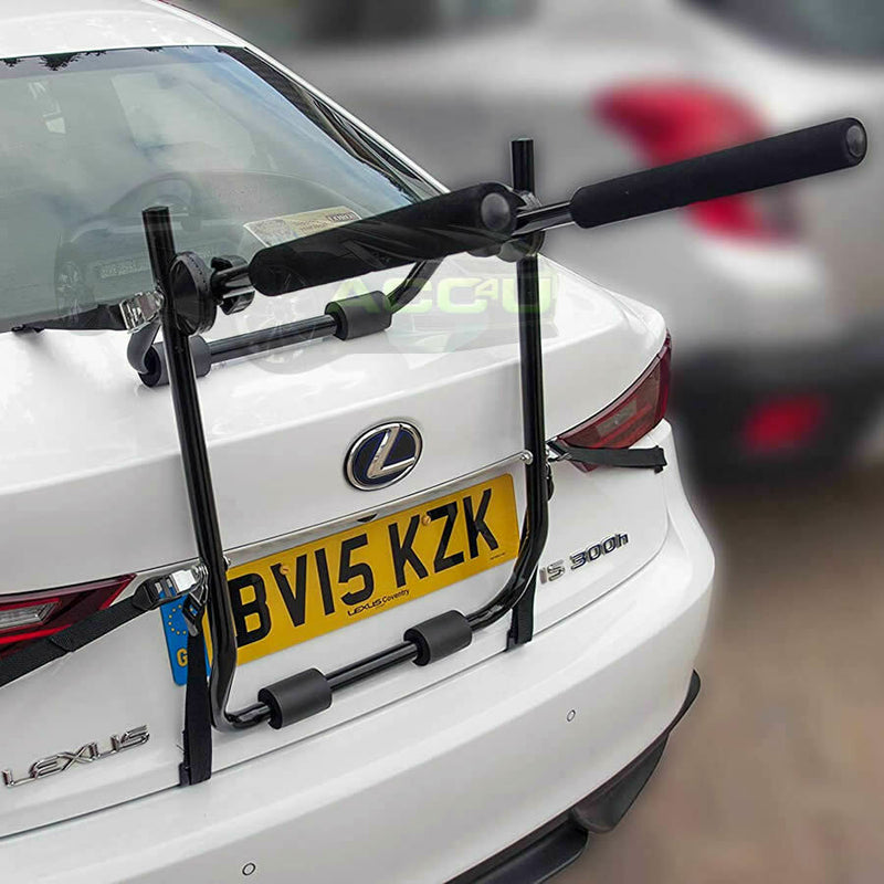 Summit SUM-613 4x4 Car Saloon Hatchback Rear Boot Mount 2 Cycle Carrier Rack