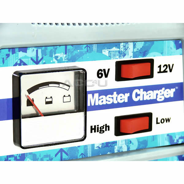 6v 12v 12 Amp Car Van Boat Motorcycle Bike Heavy Duty Battery Charger.