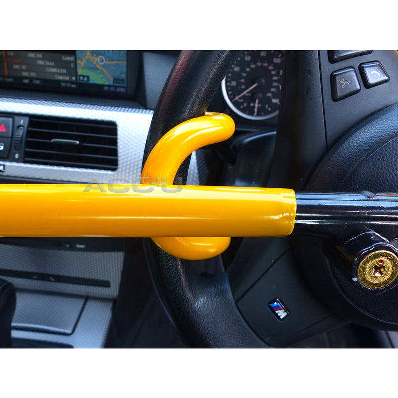 For BMW Car Double Claw Anti Theft Strong High Security Steering Wheel Lock