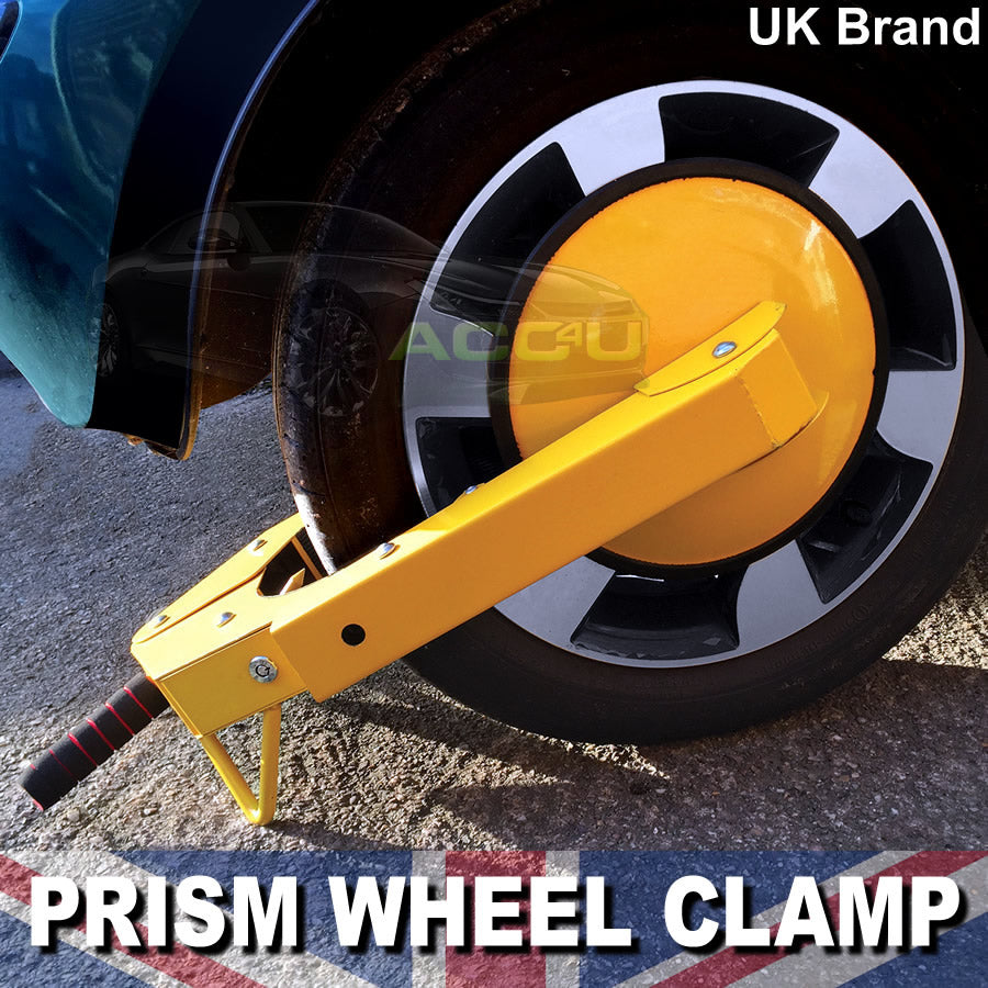 Car Van Caravan Motorhome Anti Theft High Security Full Face Wheel Clamp